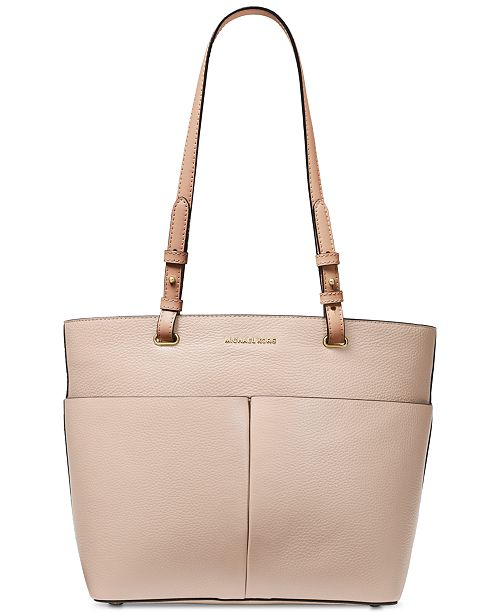 7086fe5cd7d0 Michael Kors Bedford Pebble Leather Pocket Tote & Reviews - Handbags ...