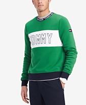 c8b17f6330591 Tommy Hilfiger Men s Logo Graphic Sweater