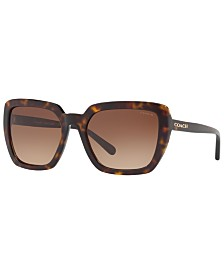 COACH Sunglasses, HC8217 57 L1654