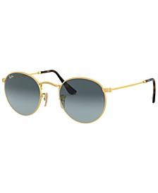 ROUND METAL Sunglasses, RB3447 50