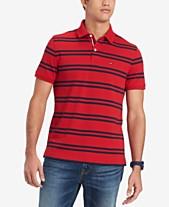 2b66390b8b7 Tommy Hilfiger Men s Classic Fit Double Stripe Polo