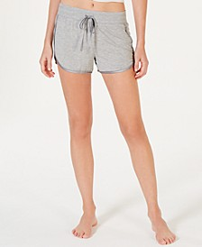 Ultra Soft Satin-Trim Pajama Shorts, Created for Macy's