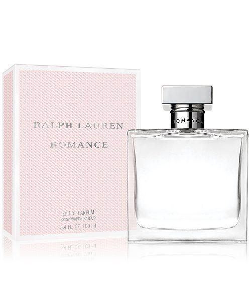 20b842c52989 Ralph Lauren Romance Eau de Parfum Spray, 3.4 oz. & Reviews - All ...