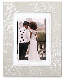 Silver Peony 4x6 Frame