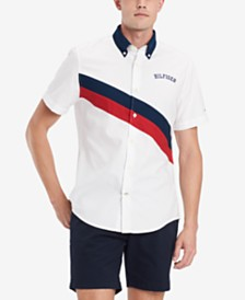Tommy Hilfiger Men's Sash Block Shirt, Created for Macy's