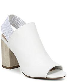 Franco Sarto Opaline Peep Toe Sandals