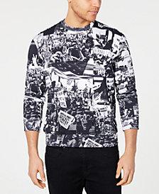 Sean John Men's Protest Graphic Sweatshirt