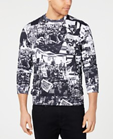 Sean John Men's Protest Graphic Sweatshirt