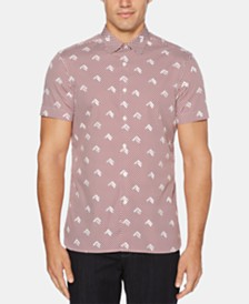 Perry Ellis Men's Slim-Fit Arrow-Print Shirt