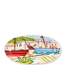 Portofino Small Oval Platter