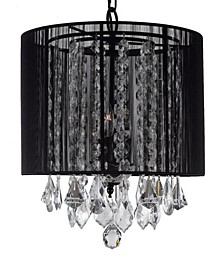 Empress Crystal 3-Light Chandelier with Shade