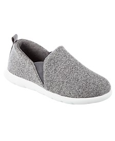 Zenz from Isotoner Women's Heather Knit Closed Back Slip-on
