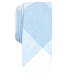Original Penguin Men's Dennen Check Skinny Tie