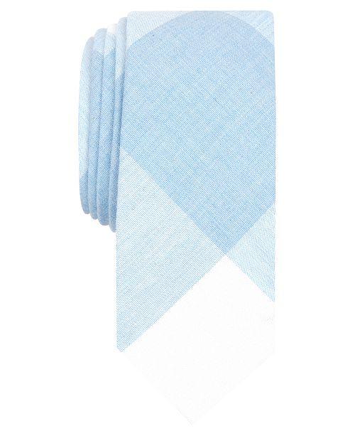 Original Penguin Men's Dennen Check Skinny Tie