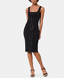 MICHAEL Michael Kors Lace-Up Tank Dress