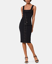 MICHAEL Michael Kors Lace-Up Tank Dress