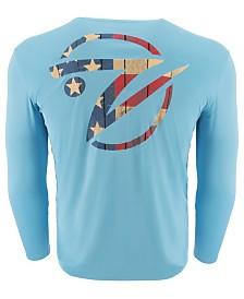 Gillz Men's Fish Logo Graphic Moisture-Wicking UV T-Shirt