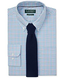 Lauren Ralph Lauren Men's Classic Fit Plaid Dress Shirt