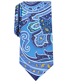 Nautica Men's Razian Paisley Slim Silk Tie