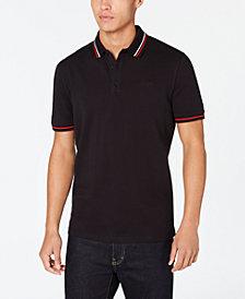 HUGO Men's Tipped Collar Polo Shirt