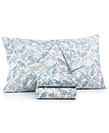 CLOSEOUT! Standard Pillowcase pair, 400 Thread Count 100% Cotton Percale, Created for Macy's