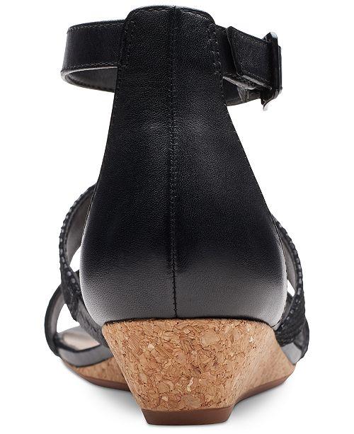 382d09ff37 Clarks Collection Women's Abigail Lily Sandals & Reviews - Sandals ...