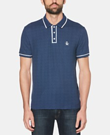 Original Penguin Men's Polka Dot Tipped Polo