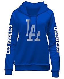 5th & Ocean Women's Los Angeles Dodgers Fleece Hoodie Pullover