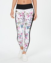 1a45b1267ef43 Ideology Candice Floral-Print Leggings, Created for Macy's