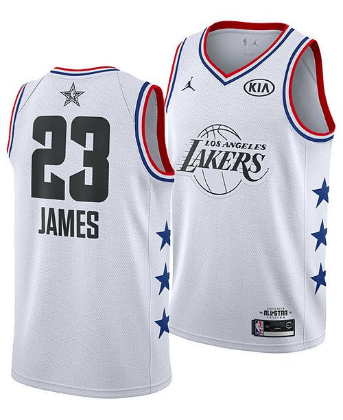 42f2a34b5e Nike Men s LeBron James Los Angeles Lakers All-Star Swingman Jersey ...