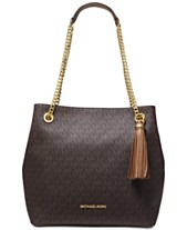 bcdeabbb5631 MICHAEL Michael Kors Signature Jet Set Chain Shoulder Tote