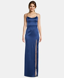 XSCAPE Satin Gown