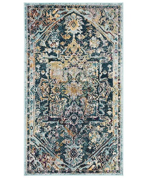 Safavieh Savannah Navy and Creme 3' x 5' Area Rug