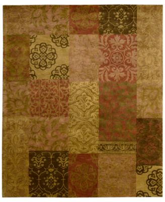 "CLOSEOUT! Area Rug, Rajah Collection JA42 Nadhir Multi 5'6"" x 8'6"""