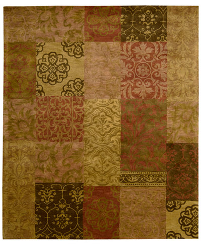 CLOSEOUT! Nourison Area Rug, Rajah Collection JA42 Nadhir Multi 7'9