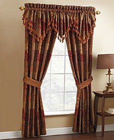 "Window Treatments, Galleria 21"" x 40"" Ascot Valance"