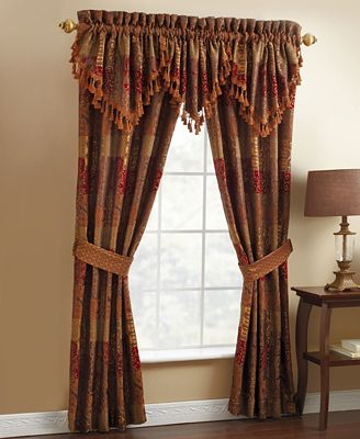 Croscill Window Treatments, Galleria Collection