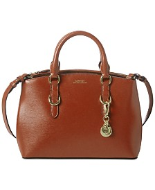 Lauren Ralph Lauren Bennington Mini Zip Satchel