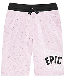 Epic Threads Big Boys Logo Knit Shorts, Created for Macy's
