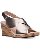 fe05d4c594e Clarks Collection Women s Lafely Alaine Wedge Sandals