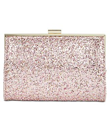 INC Loryy Glitter Clutch, Created for Macy's