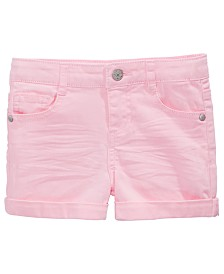 Epic Threads Little Girls Cuffed Hem Shorts, Created for Macy's