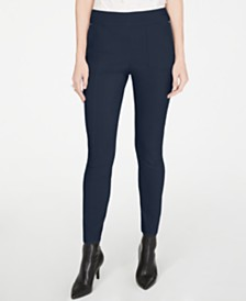 I.N.C. Curvy Skinny Pull-On Pants, Created for Macy's
