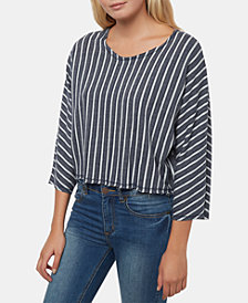 O'Neill Juniors' Madeleine Striped Crop Top