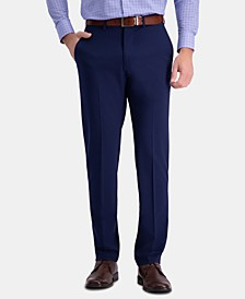 J.M. Slim Fit 4-Way Stretch Flat Front Dress Pants