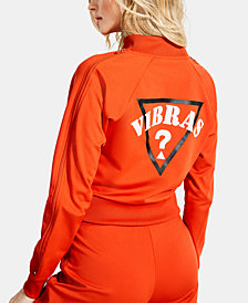GUESS x J BALVIN Vibras Zippered-Sleeve Graphic Jacket