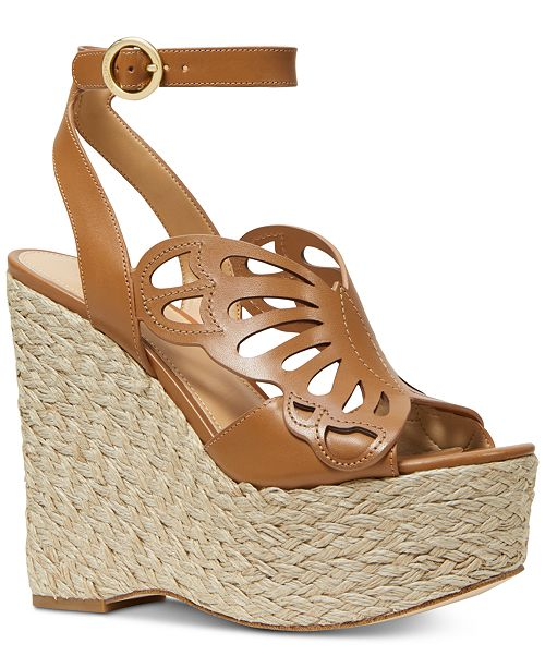 62ba9770740b Michael Kors Felicity Wedge Sandals  Michael Kors Felicity Wedge Sandals ...