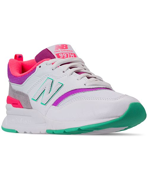 512460a2d4037 New Balance Women's 997 Casual Sneakers from Finish Line & Reviews ...
