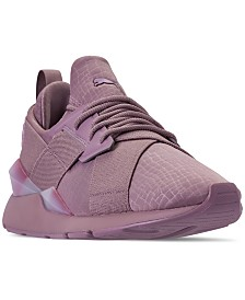 Puma Women's Muse Iridescent Casual Sneakers from Finish Line