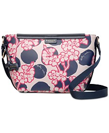 Radley London Blossom Spot Zip-Top Crossbody
